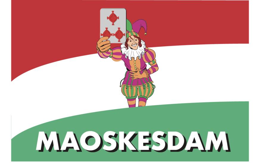 Embleem en vlag voor carnaval 2019