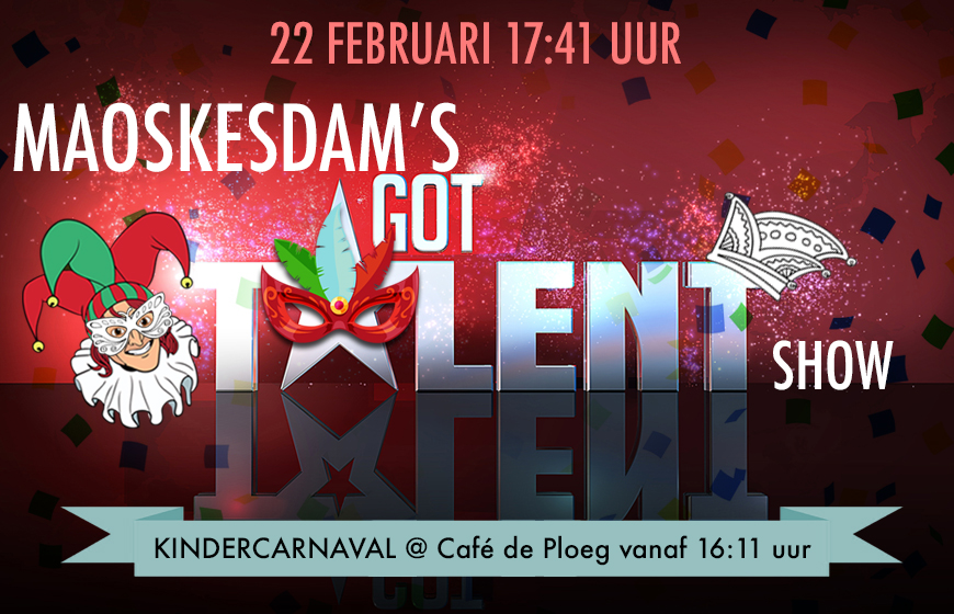 Onthulling Knoeris + Got Talent Show
